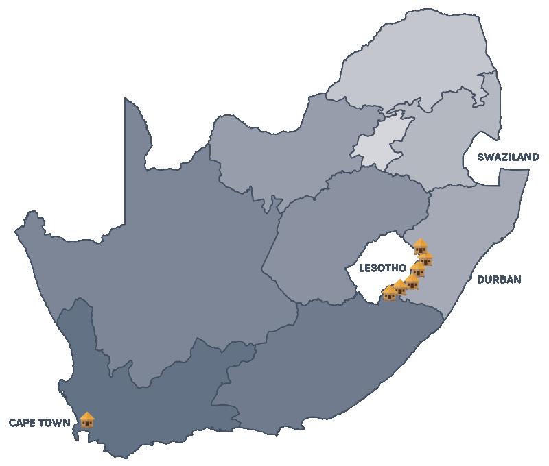 ASAP - Where We Work Map