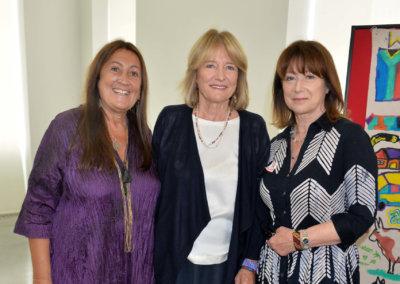 LYNNE FRANKS, PRISCILLA HIGHAM and ROSIE BARTLETT
