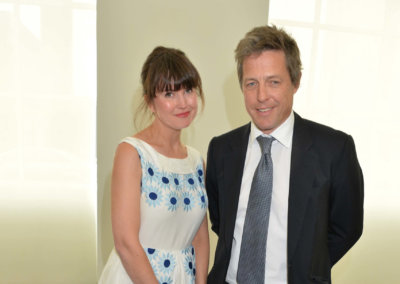 HUGH GRANT and GABBY DEEMING