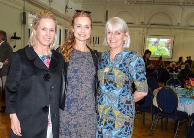 CAROLYN DAILEY, MARYAM D'ABO and LADY ANNE LAMBTON