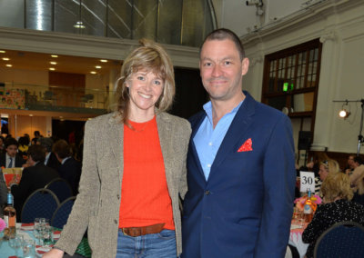 DOMINIC WEST and his wife CATHERINE